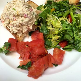 Lemon-zested tuna salad from Sarabeth's.
