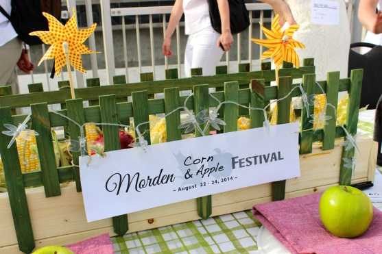 One of our tables highlighted the Morden Corn & Apple Fest.