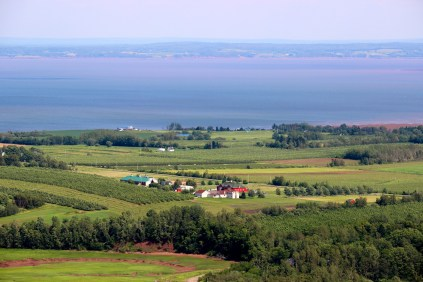 Blomidon Look-Off, Annapolis Valley, Nova Scotia