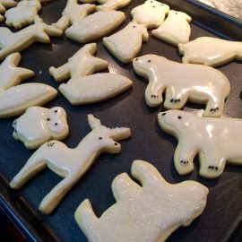 Fresh critters out of the oven