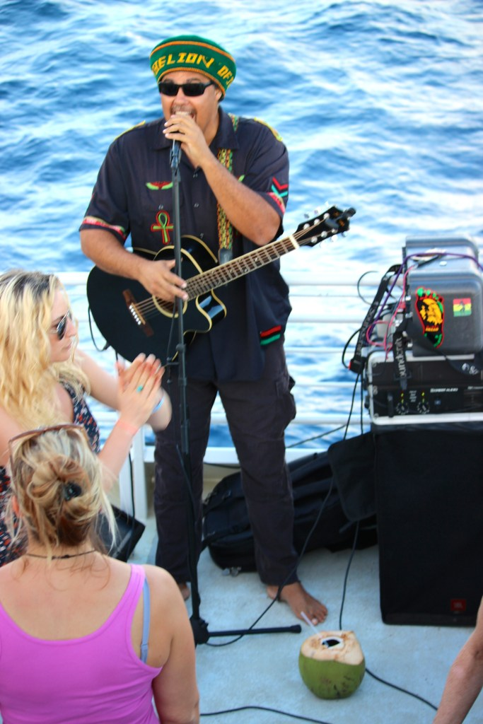Reggae with Marty Dread on the Island Rhythms cruise.