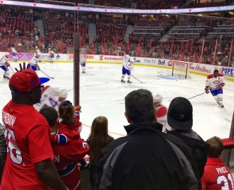 Montreal Canadiens game, Ottawa, Ontario