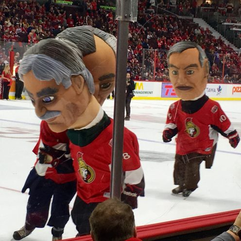 Montreal Canadiens game, Ottawa, Ontario