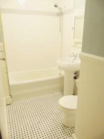 Bathroom renovation: During