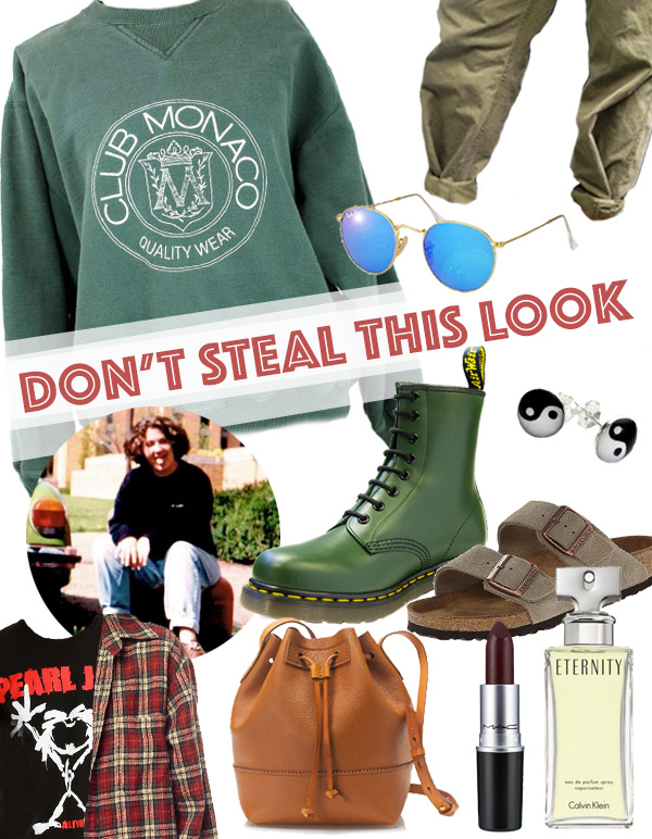 Don't Steal This Look: The 90's