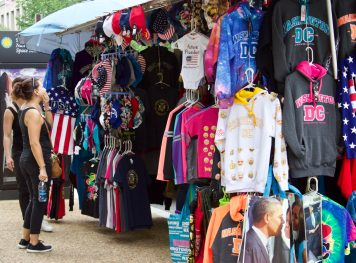 DC souvenir shopping