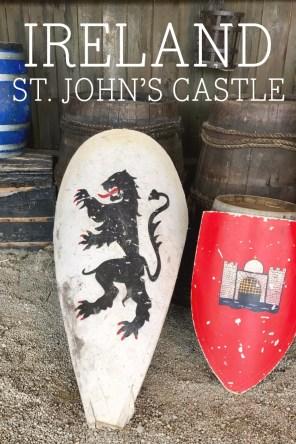 St. John's Castle, Limerick, Ireland