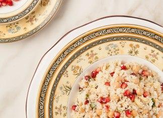 Rosh Hashanah Couscous Pomegranate Salad recipe