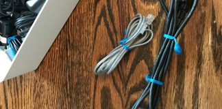 Organize all your chargers. Here is a great way to organize chargers, wires and everything electrical