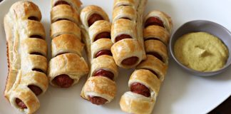 The 5-Minute 3-Ingredient Appetizer That Will Get Kids to Actually Sit Down. Erev Shabbos, Purim, or anytime...these pull apart hot dogs are a keeper