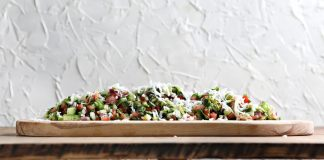 The Easiest, Best, Super Refreshing Salad for Shalosh Seudos (or any time!) It couldn't be simpler and couldn't be better. All it takes is a little chopping...that's why I call it the Chop Chop Salad.
