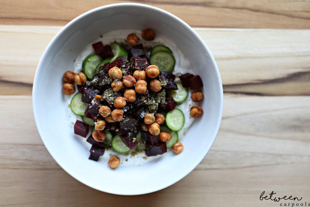 Calories That Count: Savory Greek Yogurt Bowl