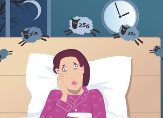 5 Things You Can Do to Help You Fall Asleep Easily Mom can't fall asleep? You may be overtired. Take care of yourself and ensure a good night with these tips.