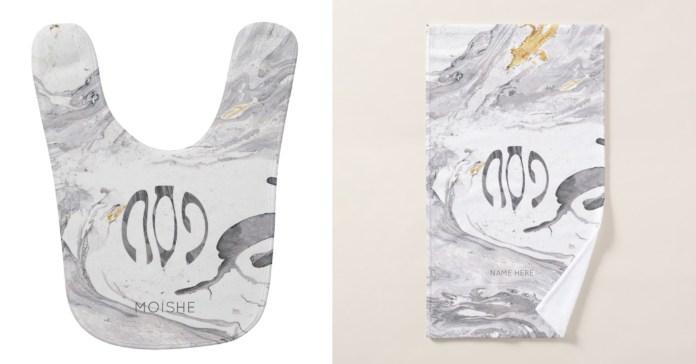 customized towels & Bib