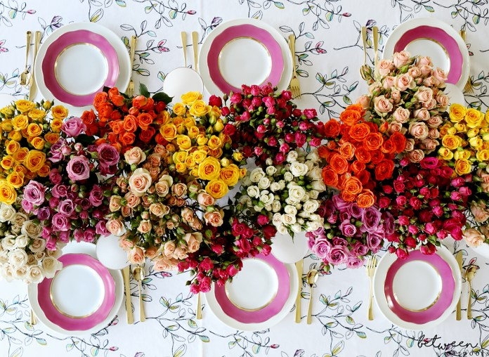 The Most Beautiful Shavuos Table--Without Spending a Fortune. You can create a grand tablescape like this one in no time...even on a budget!