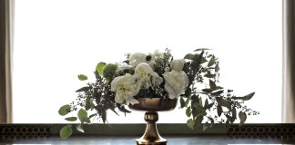 shavuos diy flower arrangement