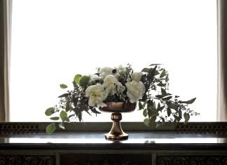 shavuos diy flower arrangement