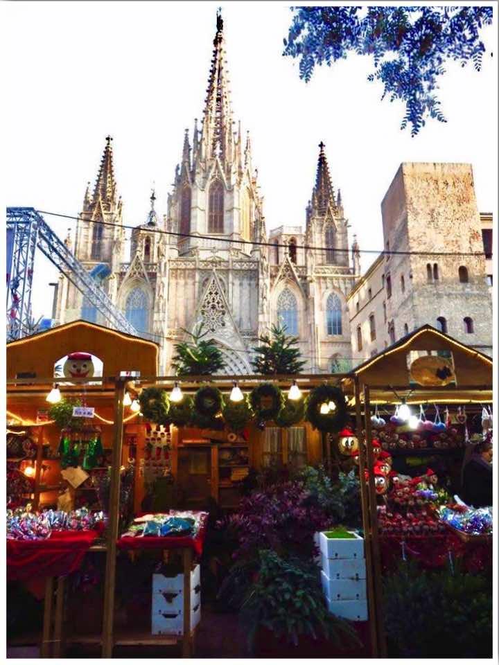 Barcelona Christmas Market at Barcelona Cathedral