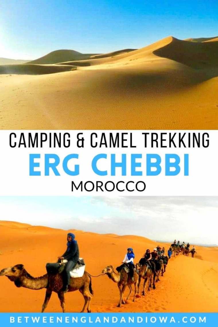 Erg Chebbi Camping and Camel Trekking Morocco