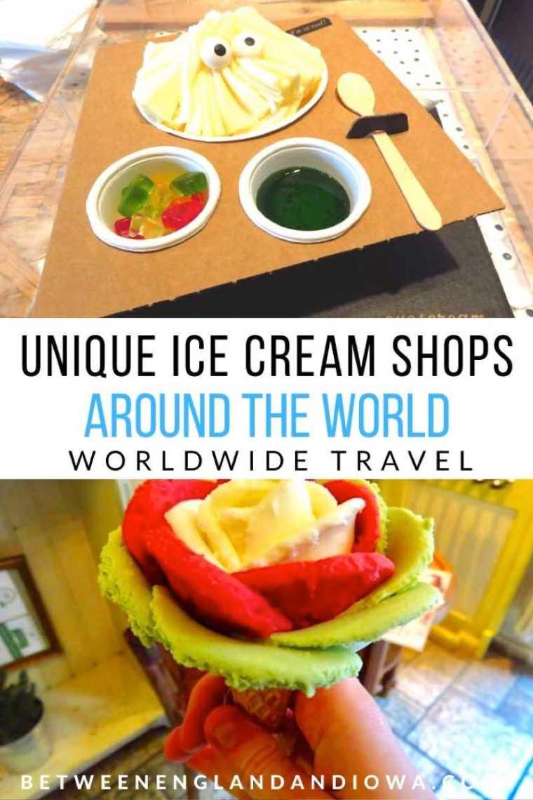 Unique Ice Cream Shops Around The World