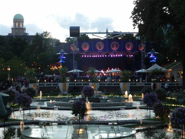 Tivoli Gardens Copenhagen Denmark