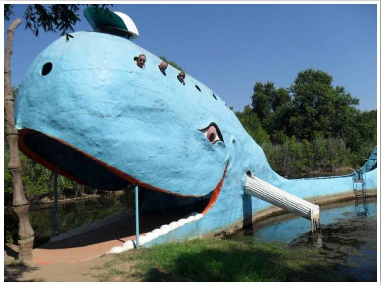 Route 66 The Blue Whale Oklahoma