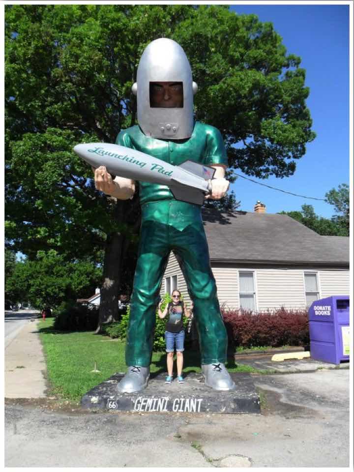 Route 66 Gemini Giant Wilmington Illinois