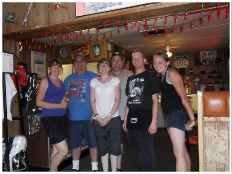 Route 66 Joe and Aggie's Cafe Holbrook Arizona