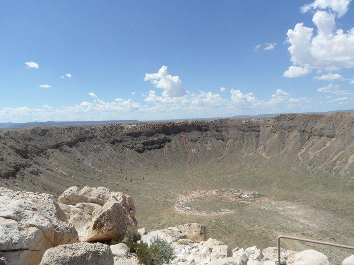 Route 66 Meteor Crater Winslow Arizona