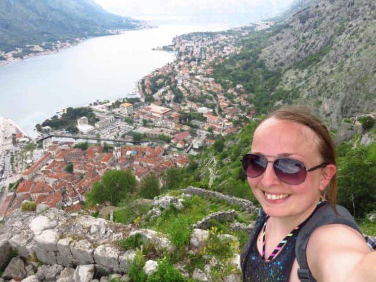 Top of Kotor's City Walls