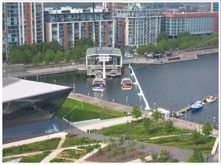 London Cable Car Royal Docks