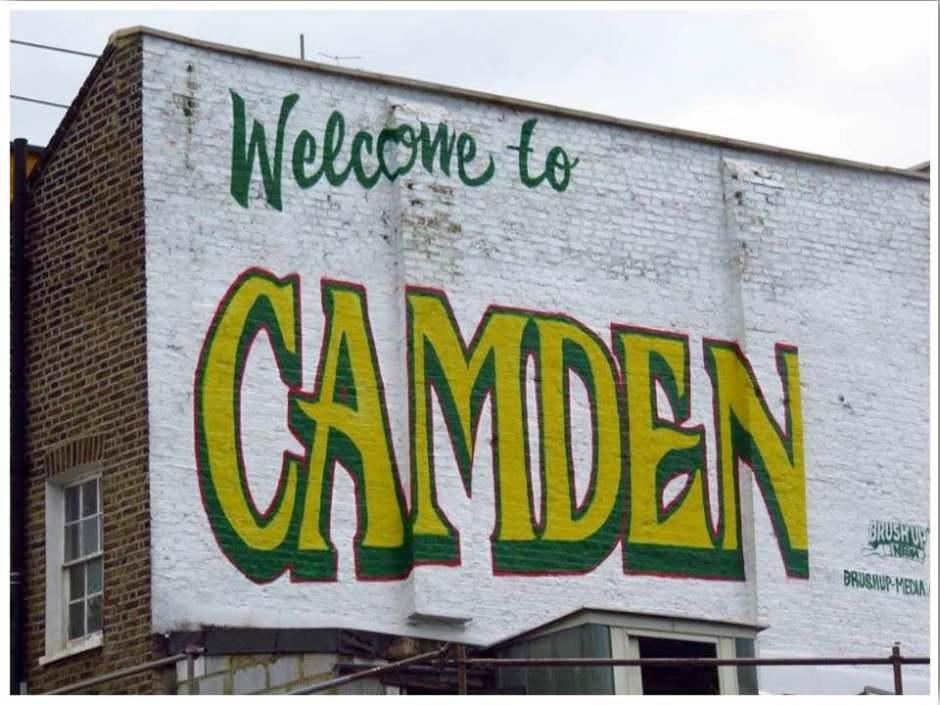 Camden Street Art Self Guided Tour