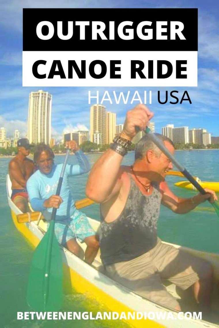 Outrigger Canoe Waikiki Beach Boat Trip