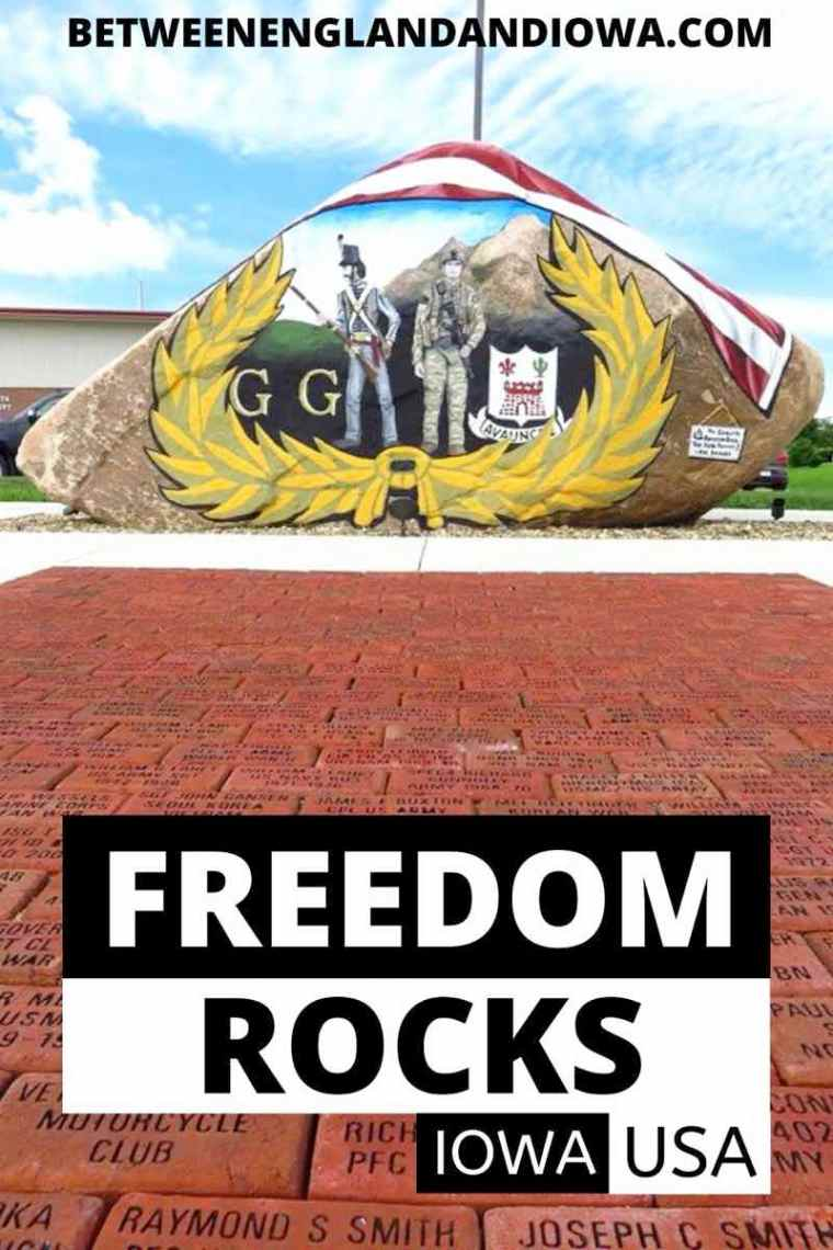 Iowa Freedom Rocks Project