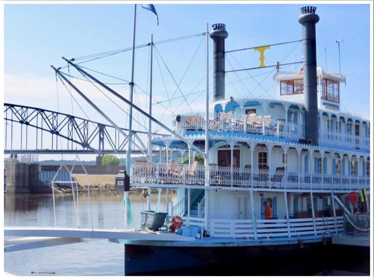Mississippi River Boat
