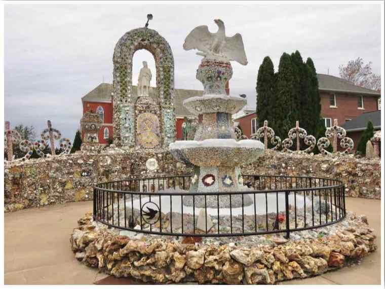 Dickeyville Grotto Wisconsin Patriotic Shrine