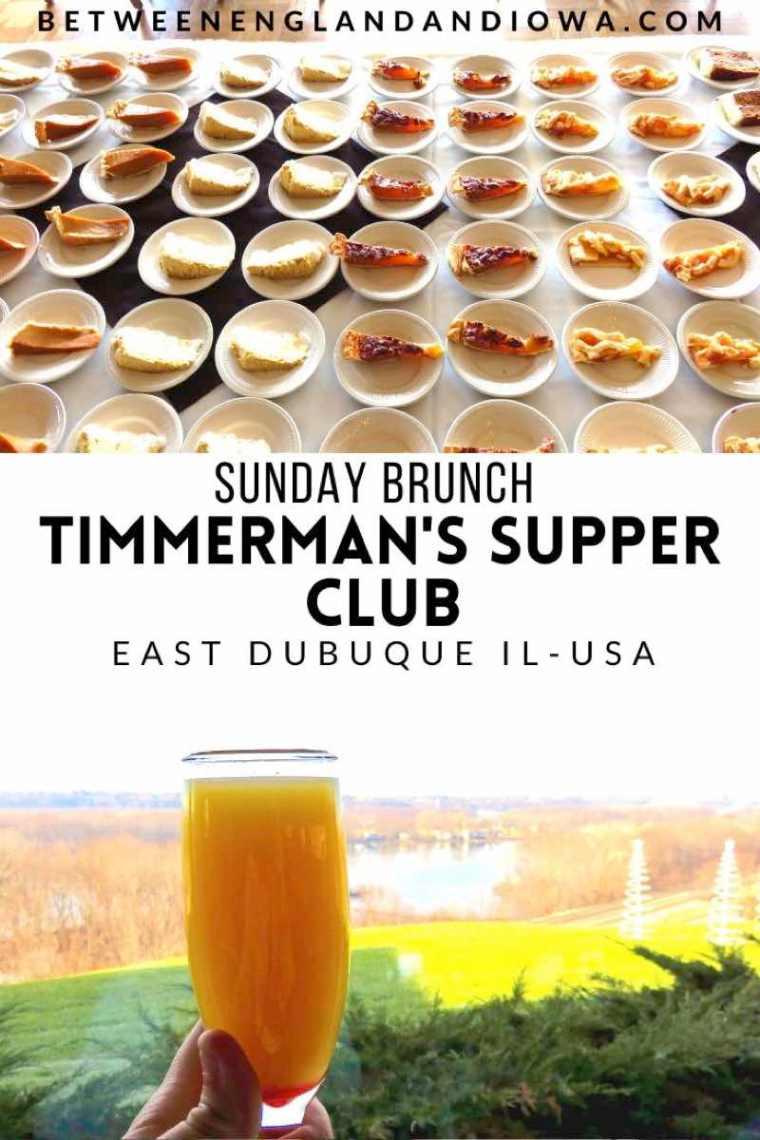 Timmerman's Supper Club East Dubuque Brunch