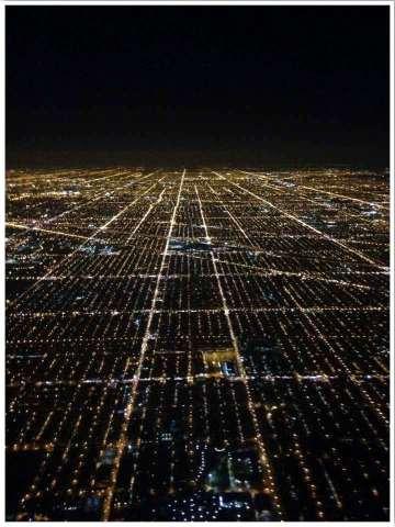 Landing in Chicago