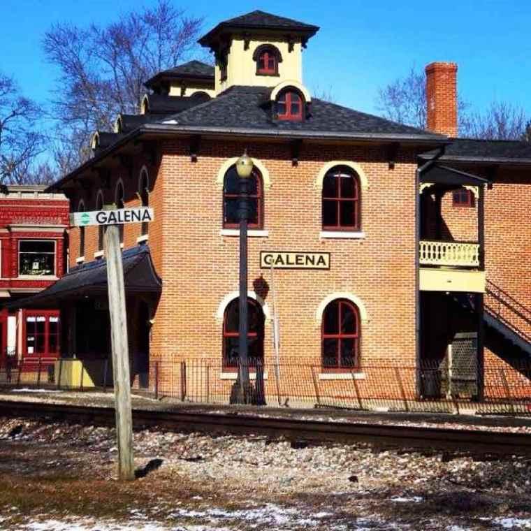 Galena IL Train Station