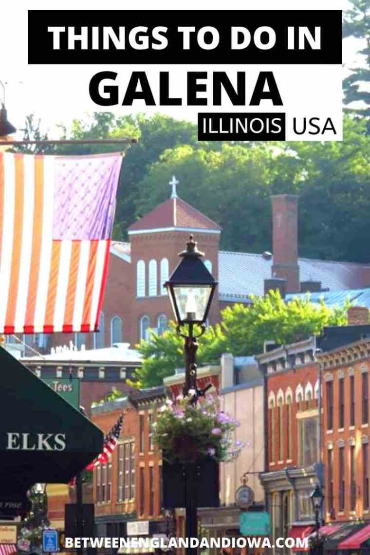 Things to do in Galena Illinois USA