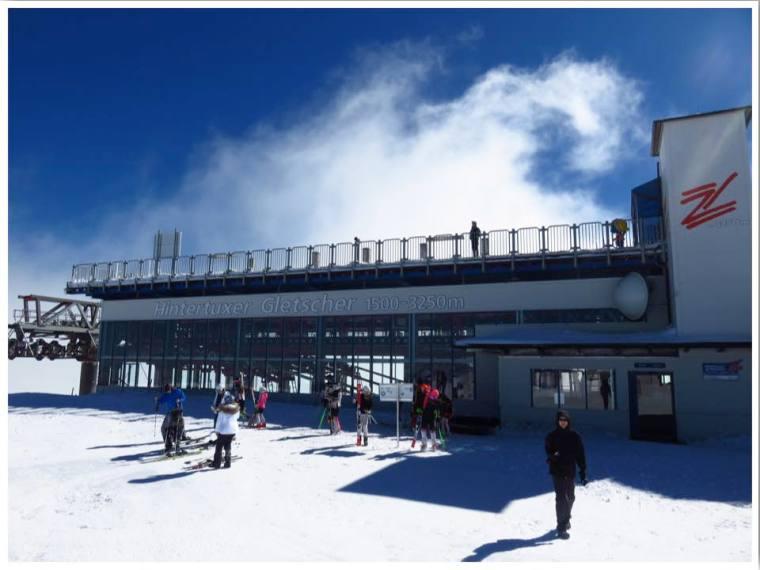 Hintertux Glacier Summit