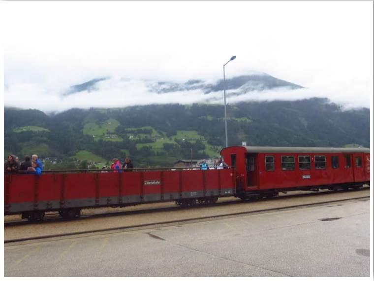 Mayrhofen Austria Zillertalbahn Steam Train