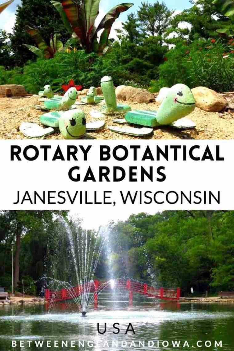 Rotary Botanical Gardens in Janesville Wisconsin