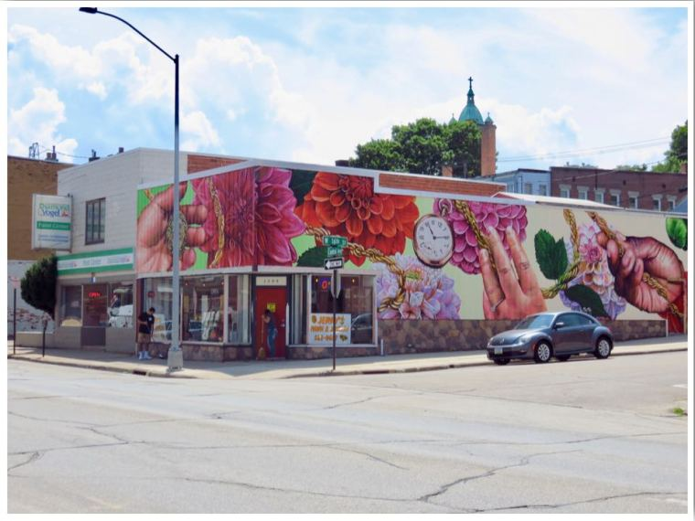 Dubuque Murals Iowa