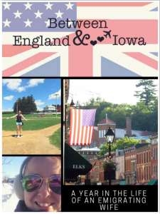 Between England and Iowa Book