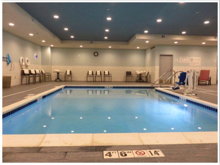 Hilton Garden Inn Iowa City Indoor Pool