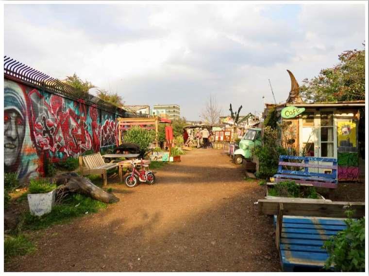 Nomadic community gardens