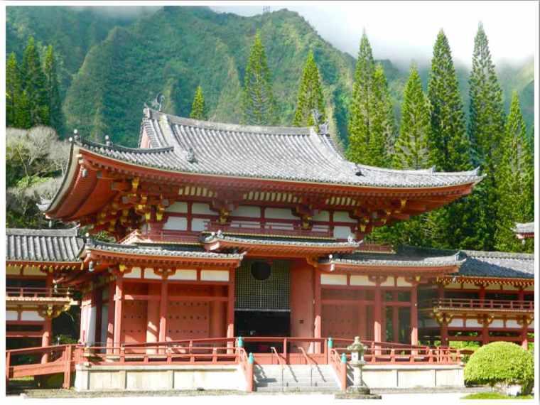 Byodo In Temple Oahu Hawaii