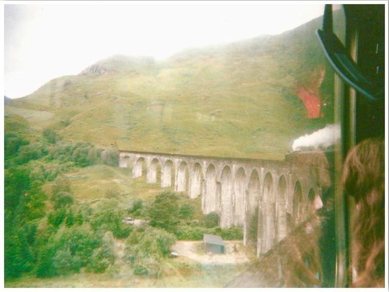Glenfinnan Viaduct Scotland Harry Potter Set Location