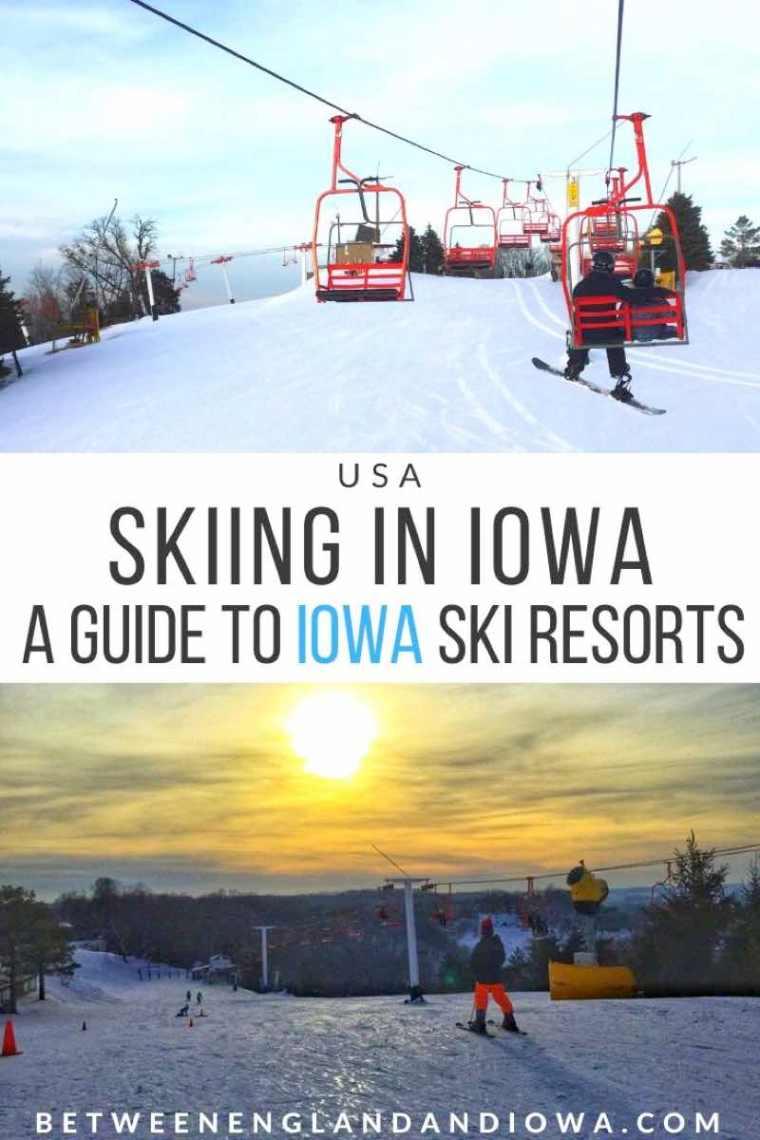 Skiing in Iowa USA. A guide to Ski Resorts in Iowa. Sundown Mountain   Mount Crescent   Seven Oaks